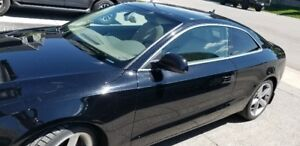 2009 Black Audi A5 with Tan Leather Interior for Sale