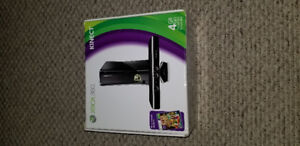 XBOX 360 with Kinect and 36 games