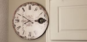 Working large wall Clock