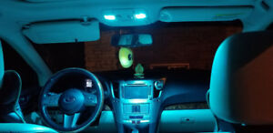 Dome, Map, License Plate, Reverse LED bulbs in assorted colours