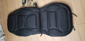 car/chair massaging and heating cover