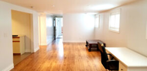 Beautiful, Modern Lower Level Bachelor Apartment In North York