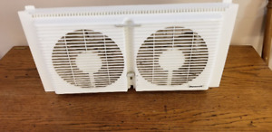 DuraCraft twin window fan