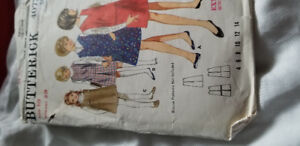 Sewing Patterns (OOP)  Simplicity 9909 and Butterick 4072