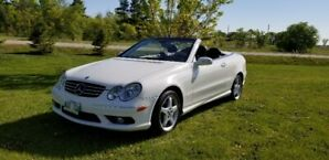 2005 Mercedes-Benz CLK500 AMG Convertible.