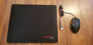 Souris - Computer Mouse Levetron GM2000 + Hyper X mouse pad