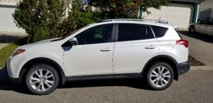 2013 Toyota Rav4 Limited, excellent condition, low km's for sale