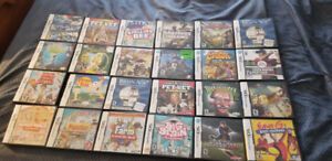 24 NINTENDO DS GAMES FOR $120 FIRM (BUNDLE DEAL ONLY)