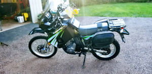 KLR 650 Street and Trail
