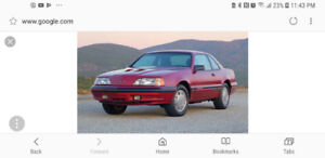 Looking to buy a Ford Thunderbird or Mercury cougar