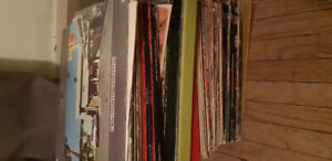 Stack of 50 plus vinyl 33s $100 firm on the stack