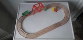 WOODEN ROAD/RAIL TRACK