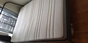Double bed IKEA mattress Haugesund with foam sheet - 185 or best