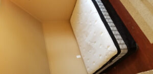 Moving Sale. Double bed and box spring. Pick up only