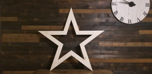 Approximately 4 foot star available for order