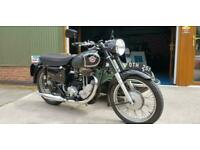 Matchless G80 MOTORBIKE AND SIDE CAR 1957