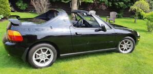 1994 Honda del Sol Vtec, real EG2 factory B16A3 car