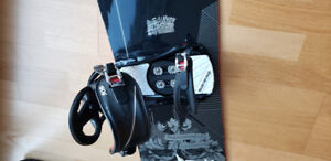 K2 Snowboard with binding and boots for sale - $300