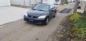 2005 civic NEW TIRES AND WINDSHEILD