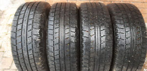 4 almost new snow tires for 2005 Toyota Sienna (N/C for RIMS)
