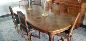Estate Sale Finest quality  Louis XV Dining Set