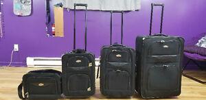 Ensemble de 4 valises de marque Cambridge
