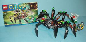 LEGO LEGEND of CHIMA no 70130, le TANK ARAIGNÉE SPARRATUS