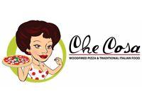 Pizza Chef Woodfired oven required £9 per hour / Pizzaiolo Forno a legna