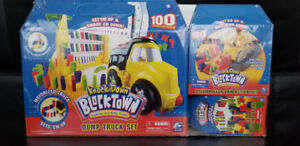 Domino Dump Truck toy set plus more for sale