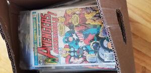 60+ Superheroes BD Comics! Boite de 60+ Comics BD Superheroes!