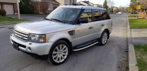 Range Rover Sport Super Charged.