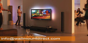 Starts $49.99* LED, Curve TV, LCD & Plasma TV wall Installation