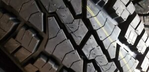 4 X NEW ETE LT245-75-R16 CACHLAND TIRE 10PLY NEUFS