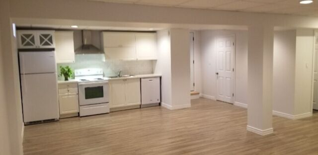 Two Bedrooms Basement Apartment For Rent Richmond Hill