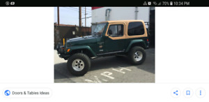 Looking for a Jeep TJ project!
