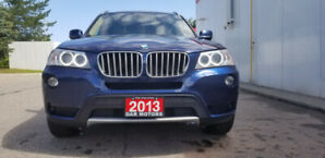 2013 BMW X3 28i SUV, Crossover/Accident Free/fully Certified