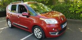 Citroen C3 Picasso 1.6 HDi Exclusive Diesel Manual Red 5dr FSH 2 Owners Warranty