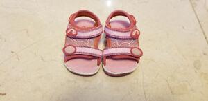 Girls Size 3 Toddler Stride Rite Sandals
