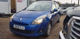 Renault Scenic Expression dCi 106 (blue) 2009