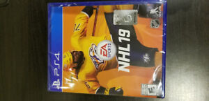 NHL 19 PS4 game - Brand New (sealed)