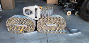 """Hercules Wire Mesh Slings 3""""x10 and 3""""x12 liftall Triangle and C"""