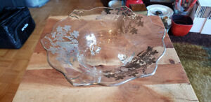 Antique Anniversary Footed Bowl