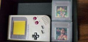 Game Boy with 4 Games