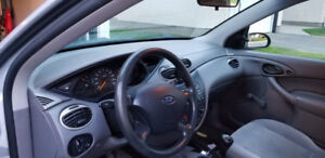 FORD FOCUS YEAR 2002 MANUAL TRANSMISSION
