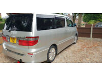 Toyota Alphard AS, 7 Seater MPV, Silver, 2400cc, Auto, 36 month Warranty