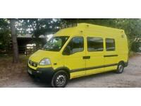 2009 Vauxhall Movano 3.5T Ambulance (Ideal motorhome/camper conversion)