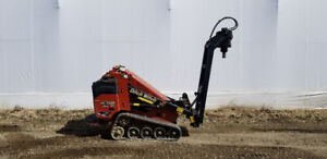 Ditch Witch Screw Pile Rig for sale $41,850.00 obo