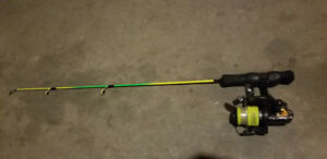 Ice fishing pole $15