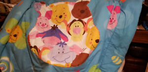 Winnie the poo double size comforter