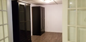 Newly renovated 1 bedroom Basement Apartment (in floor heating)